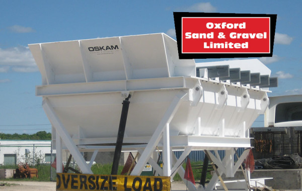 Oxford Sand & Gravel Aggregate Bin