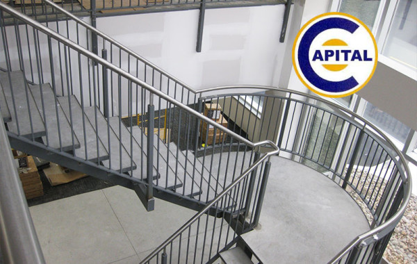 Capital Paving Stair and Railing