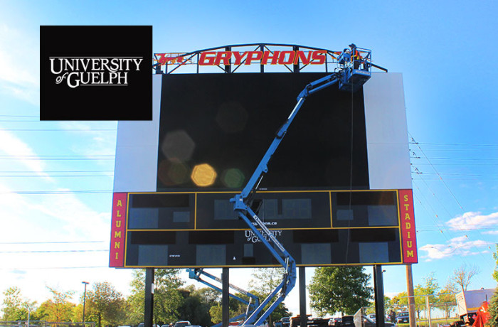U of G Structural Steel Score Board